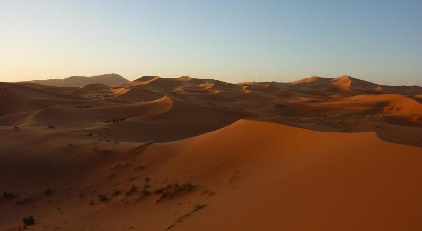 séjour danse dans le désert